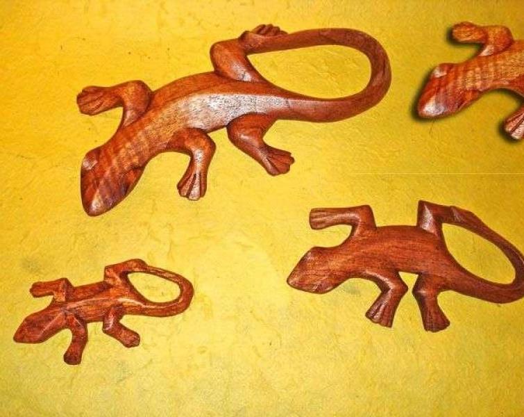 Jeki piccoli in legno